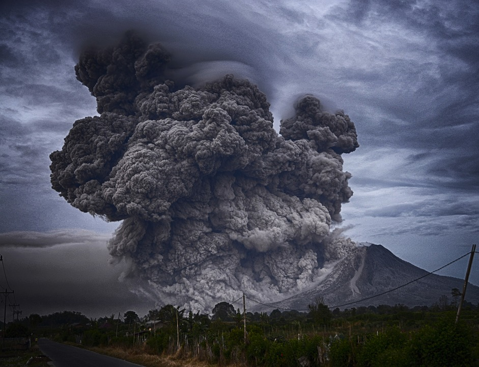 A smoke cloud to illustrate disruptive innovation
