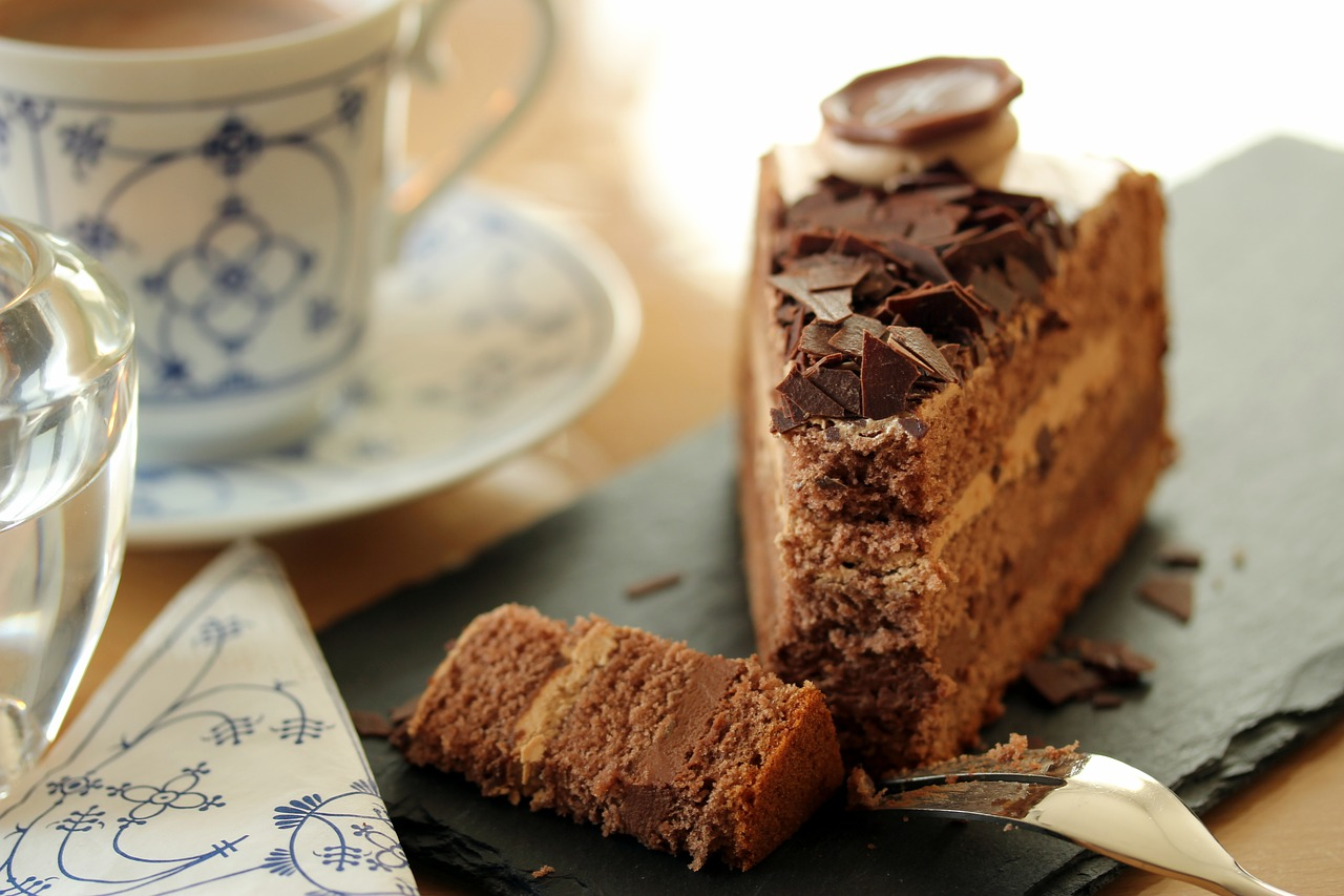 Cake for your coffee break!