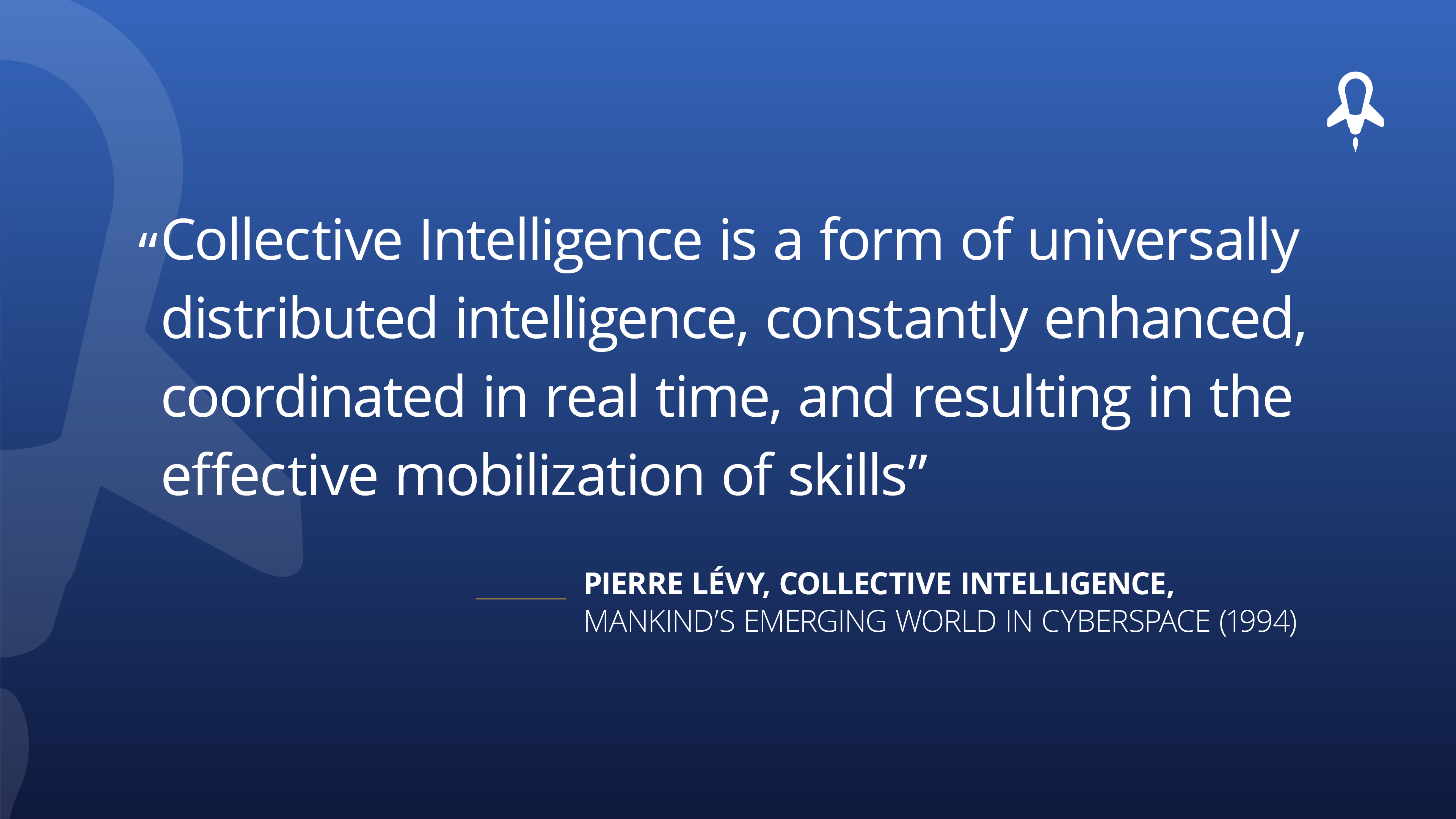 Collective intelligence quote